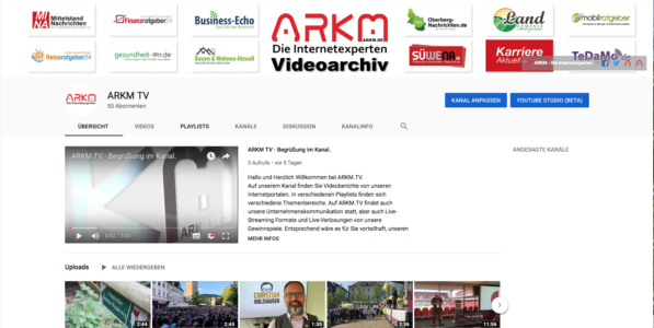 ARKM TV - YouTube